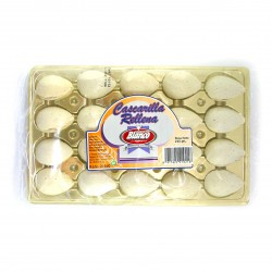 "Stuffed almonds ""Cascarilla"" tray 200 g"