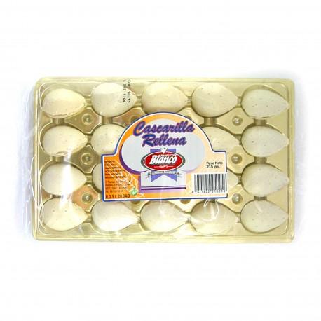 Cascarilla - Almendras rellenas bandeja 215 gr.